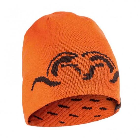 BLASER Wendestrickmütze Argali Orange - pletená čiapka