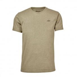 BLASER V-T-Shirt Beige - polokošeľa