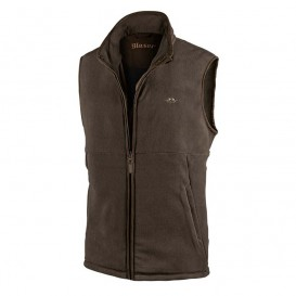 BLASER Basic Fleece Weste Schoko - strelecká vesta