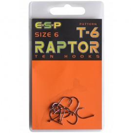 ESP Raptor T6 veľ.8 - kaprové háčiky