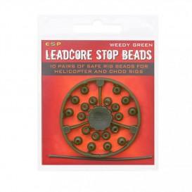 ESP Leadcore Stop Bead Weedy Green - stopery