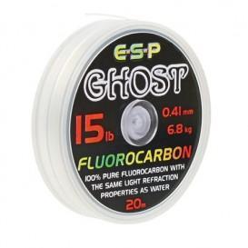 ESP Ghost Fluorocarbon Clear 15lb - fluorokarbón