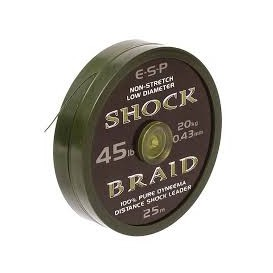 ESP Shock Braid 45lb - šoková šnúra