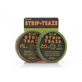 ESP Stripteaze 20lb Brown - poťahovaná šnúrka