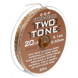 ESP Stripteaze Two Tone 20lb Camo - poťahovaná šnúrka