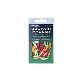 DRENNAN Buoyant Maggot Natural - umelé červy