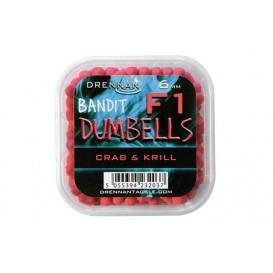 DRENNAN F1 Dumbell 6mm Crab&Krill - dumbelky