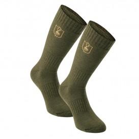 DEERHUNTER 2-Pack Wool Socks Short - ponožky dvojbalenie