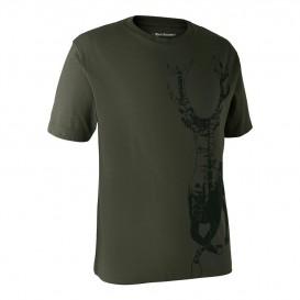 DEERHUNTER T-shirt with Deer - poľovnícke tričko