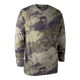 DEERHUNTER Birch T-shirt L/S - kamuflážny nátelník