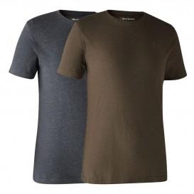 DEERHUNTER Basic 2-pack T-Shirt - tričká dvojbalenie