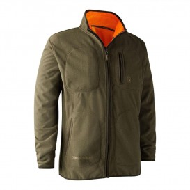 DEERHUNTER Gamekeeper Reversible Fleece Jacket - obojstranná bunda