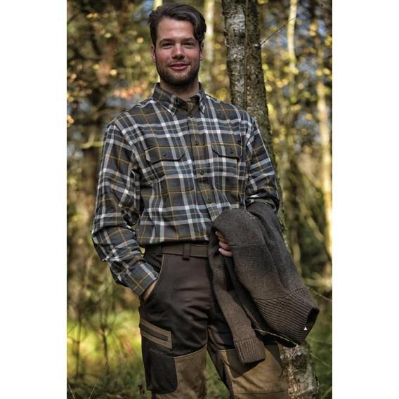 DEERHUNTER Marlon Shirt Green | košeľa s dlhým rukávom