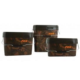 FOX Camo Square Bucket 10l - vedierko na krmivo