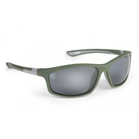 FOX Green/Silver Sunglasses - polarizačné okuliare