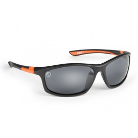 FOX Black/Orange Sunglasses - polarizačné okuliare