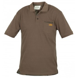 FOX Chunk Polo Shirt Khaki - polokošeľa