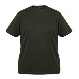 FOX Green/Black Brushed Cotton T-Shirt - bavlnené tričko