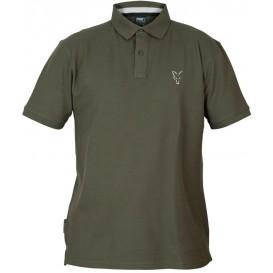 FOX Collection Green/Silver Polo Shirt - polokošeľa