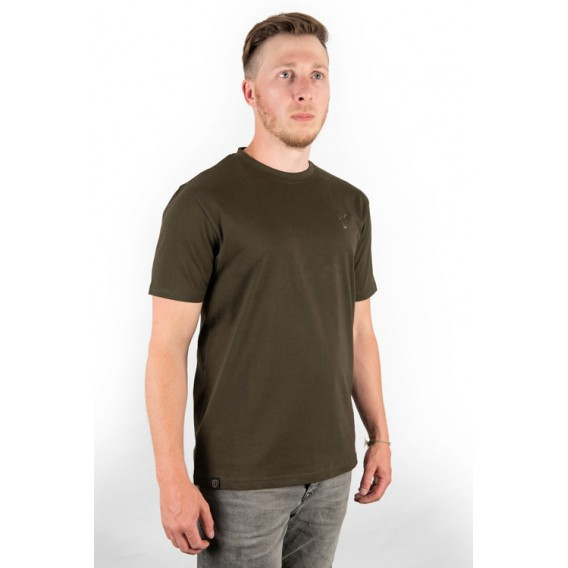 FOX Khaki T-Shirt - tričko