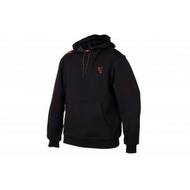 FOX Collection Black/Orange Hoodie - mikina
