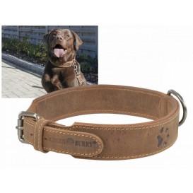 GREENBURRY Dog Neckholder 41-48cm - kožený obojok