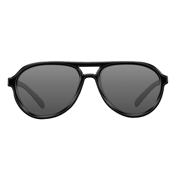 KORDA Sunglasses Aviator Mat Black Frame/Grey Lens - polarizačné okuliare