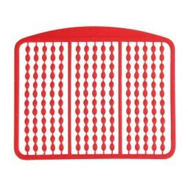 CARP SPIRIT Boilie Stop Fluorescent Red - zarážky