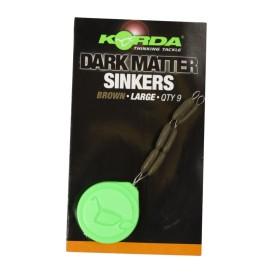 KORDA Sinkers Medium Gravel Brown - tungstenové gumičky