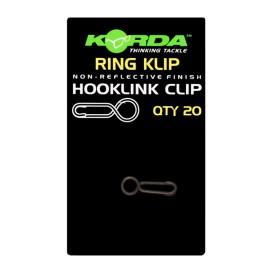 KORDA Ring Klips - rýchloklipy