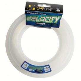 CARP SPIRIT Velocity Impact Clear 0,50mm - šokový vlasec