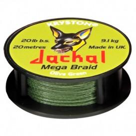 KRYSTON Jackal Olive Green 30lb - nadväzcová šnúrka