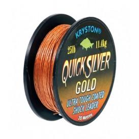 KRYSTON QuickSilver Gold 45lb - nadväzcová šnúrka
