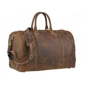GREENBURRY 1675 - kožená cestovná taška