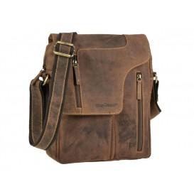 GREENBURRY Revolver Bag - kožená taška na rameno