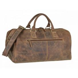 GREENBURRY Leder Reisetasche - kožená cestovná taška