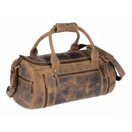 GREENBURRY 1657 - kožená cestovná taška