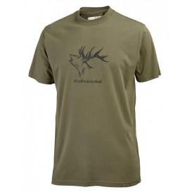 HUBERTUS pánske tričko Waidmannsheil, farba trstinová