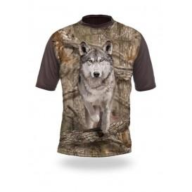 HILLMAN Wolf Runs 3D T-Shirt 3DX - tričko