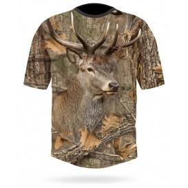 HILLMAN Red Deer DGT 3DX - tričko
