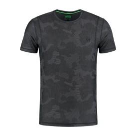 KORDA LE Kamo Pro Tee Charcoal - tričko