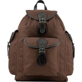 JACK PYKE Canvas Day Pack Brown - ruksak