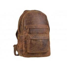 GREENBURRY 1691 - kožený ruksak na zips