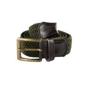JACK PYKE Countryman Elasticated Belt Green - opasok