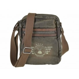 GREENBURRY Aviator Canvas Shoulderbag - taška na rameno